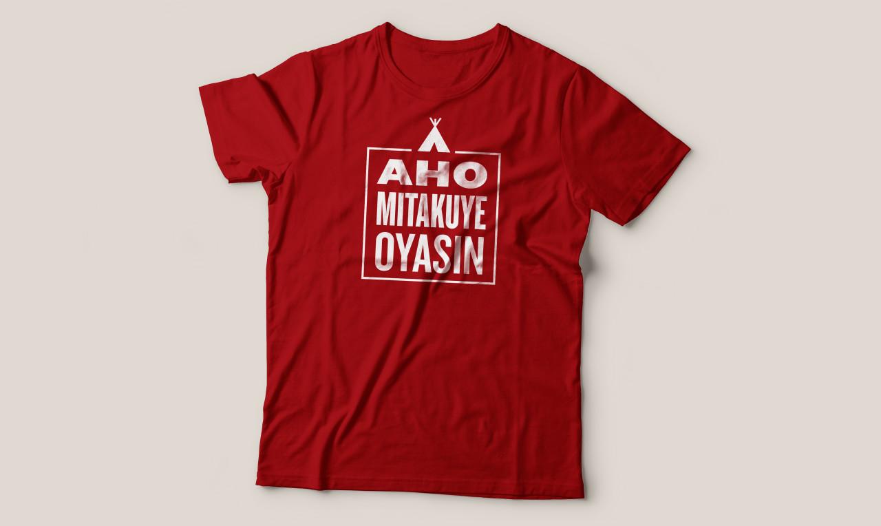 Aho Mitakuye Oyasin T-Shirt