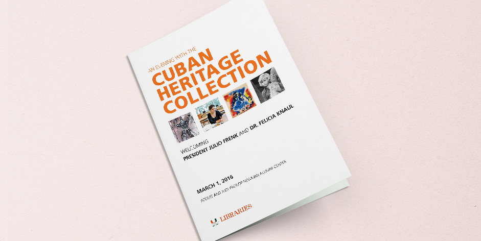 Cuban Heritage Collection Program Cover