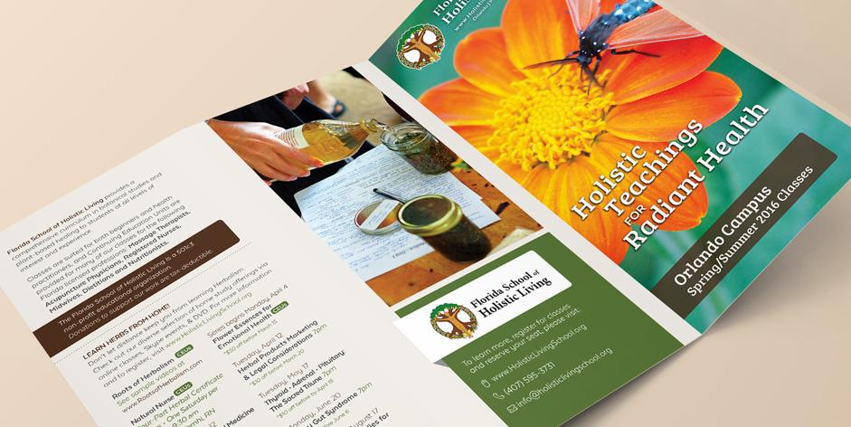 Florida School of Holistic Living Brochure - Orlando