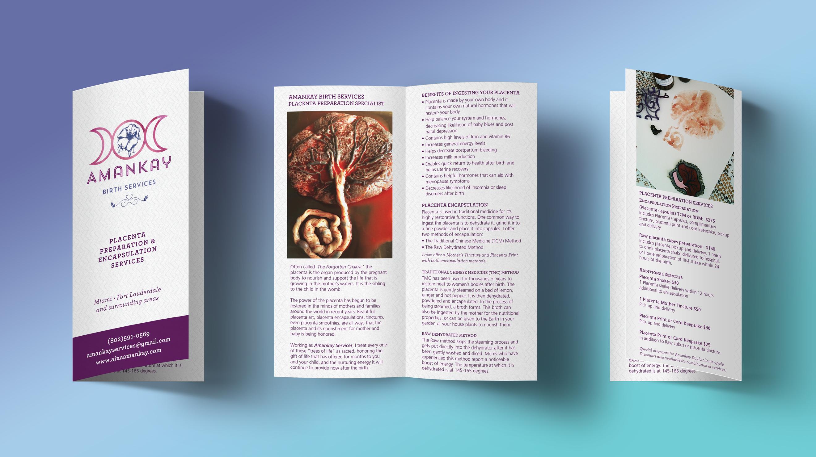 Amankay Birth Services Brochure